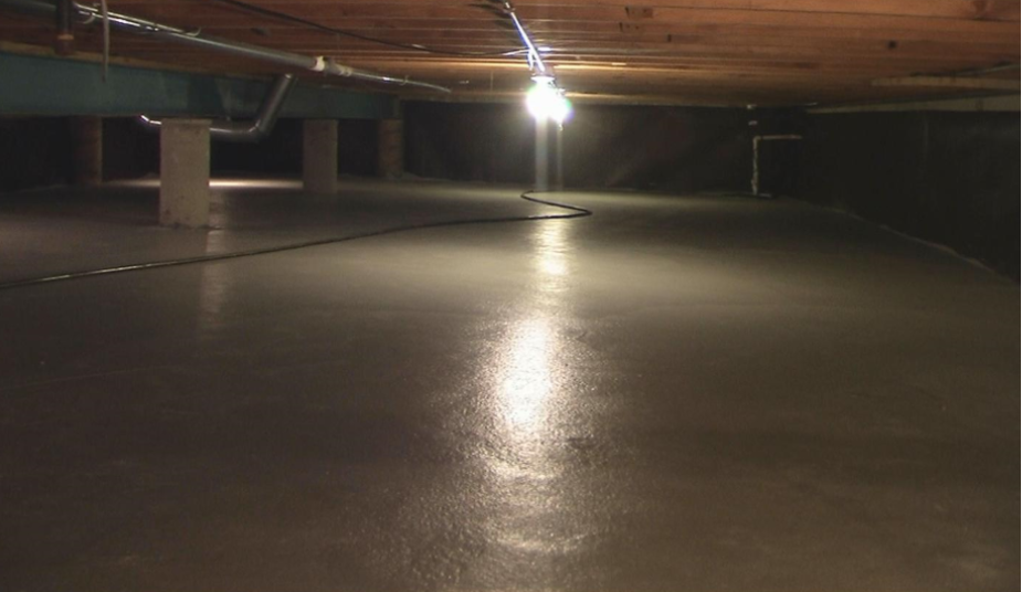 Crawl Space Encapsulation Amp Radon Mitigation In Chicago Il