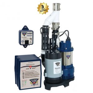 Basement Sump Pumps and Battery Back Ups in Chicago, IL